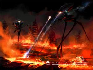 """Robotene fra """"War of the worlds"""" som bruker mennesker som drivstoff"""